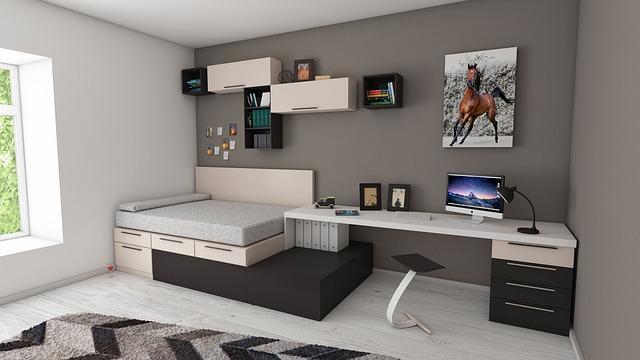 pokoj s pracovnou