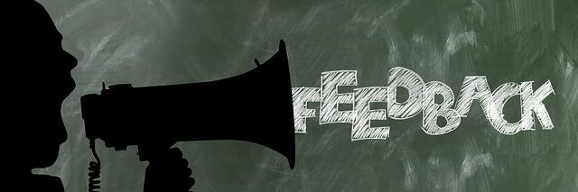 feedback - zpětná vazba