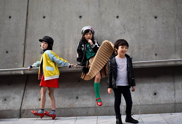 moderní děti