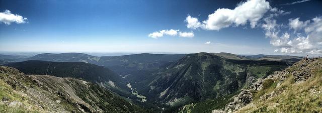 slunečno na horách