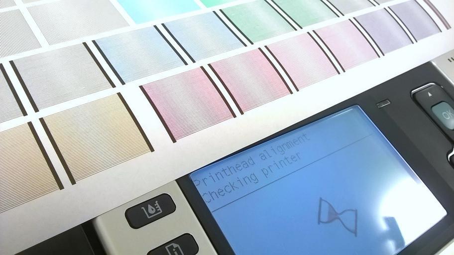 displej tiskárny