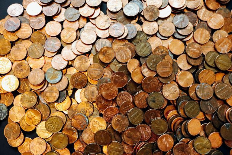 americké penny