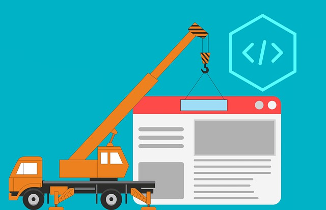 výstavba webu