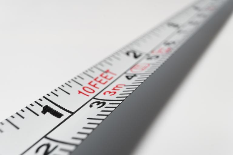 měření proporcí