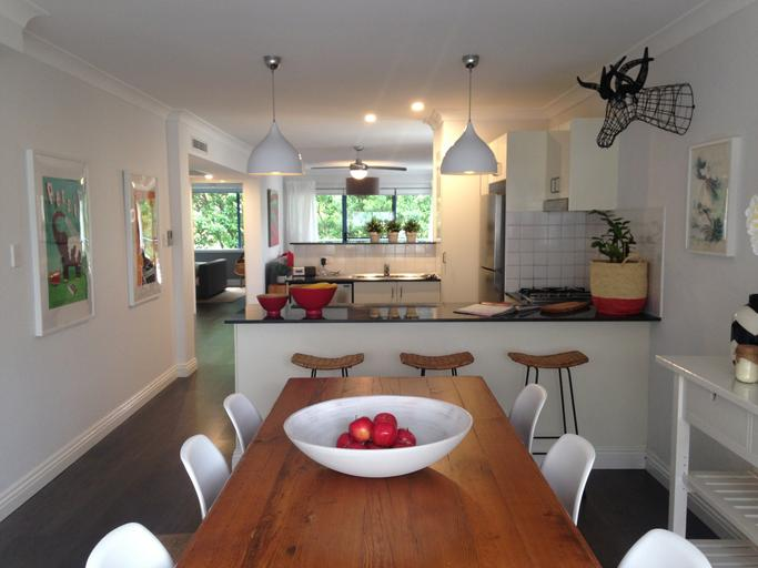 dekorace v kuchyni a jídelně