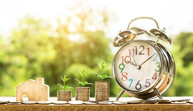 znázornění růstu peněz
