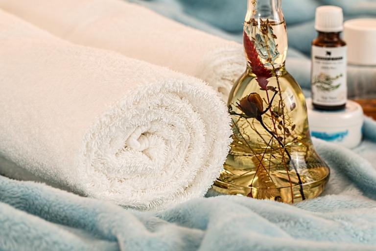 ručník a olejíček