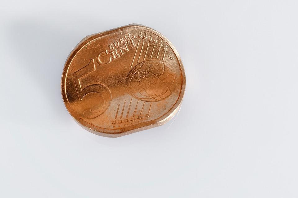 pomačkané centy